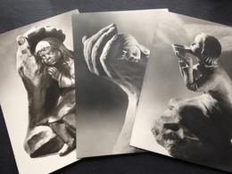 PLASTIK - DOROTHEA STEIGERWALD - 1975 - BRENDOW-VERLAG - MOERS - 3 AK`s - Ansichtskarten