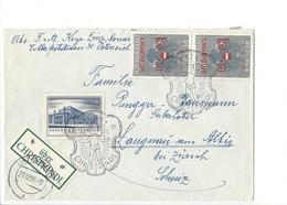 21091 - Christkindl 1956 Lettre Pour Langnau  24.12.1956 + Vignette über Christkindl - Noël