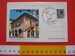 A.02 ITALIA ANNULLO - 1979 OMEGNA NOVARA VERBANIA FESTIVAL SCACCHISTICO SCACCHI INTERNAZIONALE TORRE BUSTA LETTERA POSTA - Scacchi