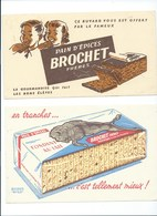 BUVARD X 2 Pain D'épices BROCHET Frères Bien - Gingerbread
