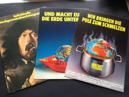 KLAUS STAECK - 3 AK`s - Künstlerkarten