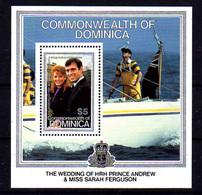 1986   Dominique,  Mariage Du Prince Andrew, BF 112 **, Cote 8 € - Dominique (1978-...)