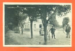 """CPA  PHOTO CARTE Nanterre """" Le Boulevard Du Nord Et La Rue Rigault """" Archives Daniel Delboy - Nanterre"""