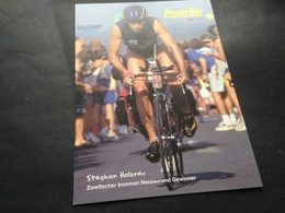 STEPHAN HOLZNER - IRONMAN - NEUSEELAND - POWER BAR - Radsport