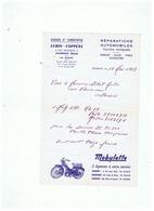 GARAGE St CHRISTOPHE  LUBIN - COPPENS à JEUMONT (NORD)  1969 - Transport