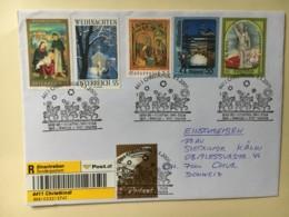 8043 - Chistkindl 1.01.2009 Recommandé Pour Coire - 2001-10 Briefe U. Dokumente