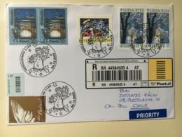 8048 - Chistkindl 24.12.2005  Recommandé Pour Coire - 2001-10 Briefe U. Dokumente