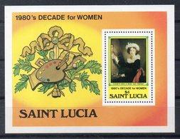 SAINTE LUCIE  Timbre Neuf ** De 1981   ( Ref 5852 )   Art - Peinture - St.Lucia (1979-...)