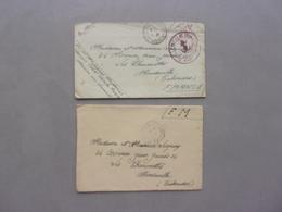 LOT D ENVELOPPES  ET DE LETTRES - Stamps
