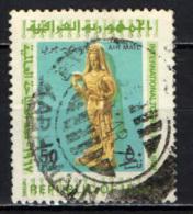 IRAQ - 1967 - STATUA DI DONNA - USATO - Iraq