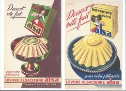 BUVARD X 2 ALSA Alsacienne Bien - Alimentaire