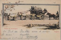 SCHWEIZERISCHE GEBIRGSPOST → Poste De Montagne, Gotthardpost Anno 1903 - Suisse