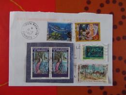 Lot De 6 Timbres      3 De La  Polynésie Française Et 3 De Nouvelle Calédonie   ( Dont 2 Pareils ) - New Caledonia