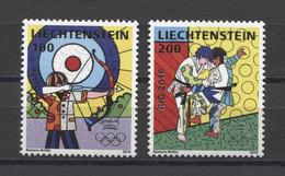 Liechtenstein Olympics JEUX OLYMPIQUES JUDO Rio 2016 2v MNH - Estate 2016: Rio De Janeiro