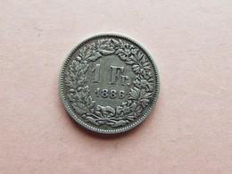 PIECE 1 FRANC 1886B - Suisse