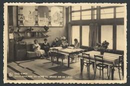 +++ CPA - LE COQ - DE HAAN - Villa Scolaire Du Home Du Grand Air De LIEGE - Ecole - Colonie - Salle Repos Personnel  // - De Haan