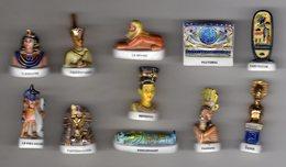 Série Complète 11 Fèves Brillantes -  TRESOR D'EGYPTE Arguydal 2003 - Countries