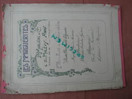 """Catalogue""""LES MARGUERITES"""" 1906 Bijoux,Eventails,Ombrelles,Ganterie, Etc Trés Beaux Clichés Papier Glacé (superbe) - Jewels & Clocks"""