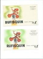 BUVARD X 2 (DIFFÉRENTS)  RUFISQUIN HUILE Desmarais Frères Bien - Alimentaire