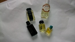 Miniature De Parfum Homme Et Femme  Lot De 5 Sans Boites N° B - Modern Miniatures (from 1961)