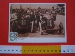 A.02 ITALIA ANNULLO - 1993 TORINO JUNIORPHIL FILATELIA GIOVANILE AUTO CAR AUTOMOBILE CHIRIBIRI MAXIMUM - Automobili
