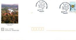 PAP  Affranchi TP Franche Comté Cachet Commémoratif  Lancement PAP Franche Comté - Poste