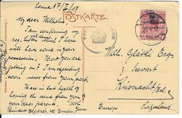 Togo Censored Postcard SG H48, Mi 35 Lome 20.1.17 To Küsnacht CH - Grande-Bretagne (ex-colonies & Protectorats)