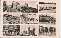 L15H094 - Lyon  - Carte Multi-vues - Paysages - Cellard N°36100 - Lyon