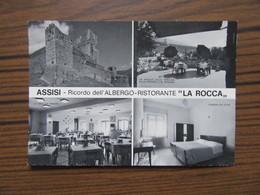 """Ricordo Dell'Albergo Ristorante ' La Rocca""""     Assisi     Italie       Hôtel Restaurant - Souvenir De..."""