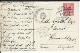 Togo Censored Postcard SG H48, Mi 35 Lome 10.4.17 To Küsnacht CH - Grande-Bretagne (ex-colonies & Protectorats)
