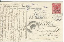 Togo Censored Postcard SG H48, Mi 35 Lome 20.11.17 To Küsnacht CH - Grande-Bretagne (ex-colonies & Protectorats)