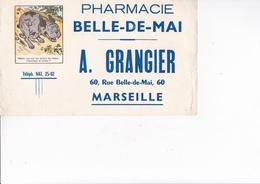 MRSEILLE / PHARMACIE GRANGIER / 60 RUE BELLE DE MAI / RARE - Chemist's