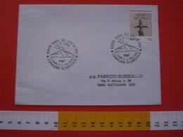 A.02 ITALIA ANNULLO - 1994 TORRE DEL GRECO NAPOLI CONVEGNO SCIENTIFICO L' UOMO E IL VULCANO VESUVIO - Vulcani