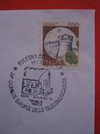 A.02 ITALIA ANNULLO - 1995 BOLOGNA 34^ GIORNATE EUROPEE DELLE TELECOMUNICAZIONI CEPT FITCE - Europa-CEPT