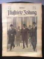 Berliner Illustrierte Zeitung 1922 Verlag Ullstein Reichspräsident Ebert In München Titelseite - Fashion