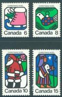 CANADA  - MNH/*** LUXE - 1973 - CHRISTMAS  - Yv 515-518 - Lot 18498 - 1952-.... Règne D'Elizabeth II