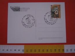 A.02 ITALIA ANNULLO - 1996 TORINO NASCITA DE AMICIS SCRITTORE CUORE BOOK SALONE DEL LIBRO - Scrittori