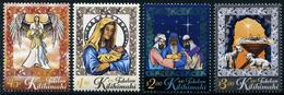 Tokelau - 2017 - Noël 2017, Anges, Rois Mages - 4 Val Neufs // Mnh - Tokelau