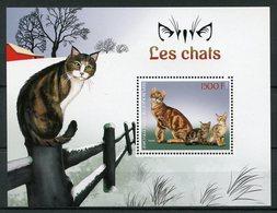 Ivory Coast 2017 MNH Cats Sokoke 1v S/S Chats Mammals Domestic Animals Pets Cat Stamps - Domestic Cats