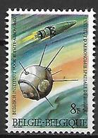BELGIQUE    -  1966.   Y&T N° 1380 *.   Fusée Et Satellite. - Belgique