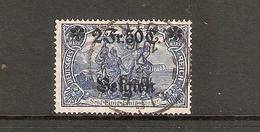 001739 German Occupation Of Belgium 1914 2 F 50c FU - Zone Belge