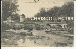 Carte Postale  : Bar Sur Seine - Les Environs - Le Pont De Villeneuve - Bar-sur-Seine