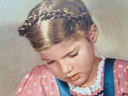 ZOPFMAEDCHEN MIT PUPPE - 1951 - Von BAD ELSTER - DDR Nach FRANKFURT - Abbildungen