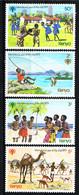 """Kenya  1979, """" Annee De L` Enfant """" ,4 Stamps  Postfr. / MNH / Neuf - Kind & Jugend"""