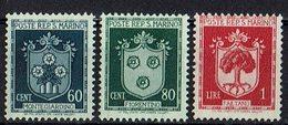 San Marino 1945 // Mi. 321,322,323 ** (031..774) - San Marino