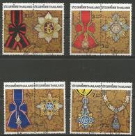 Thailand - 1988 Royal Insignias Used   Sc 1278-85 - Thailand