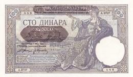 100 Dinara 1941 ! UNC - Serbie