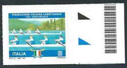 Italia 2018; Federazione Italiana Canottaggio, 130° Anniversario; Bordo Destro. - 6. 1946-.. Repubblica