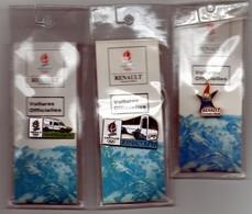 LOT DE 3 PIN'S RENAULT ALBERVILLE 92 - Badges