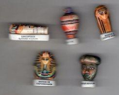 Série 5/12 Fèves Brillantes -  EGYPTE Arguydal 1999 - Countries